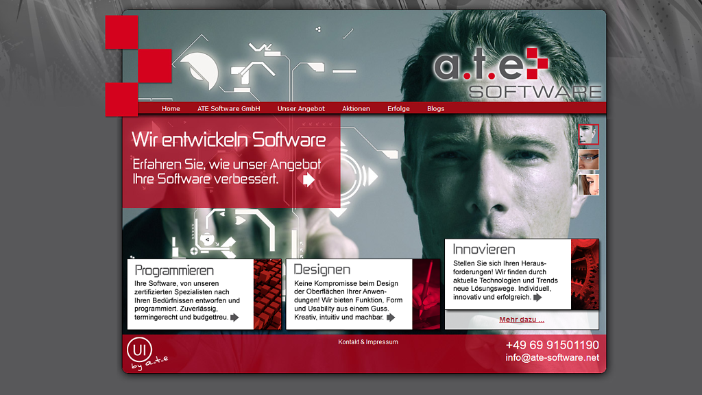 Website ATE-Software